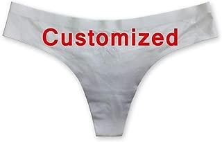 Coloranimal Sexy 3D Animal Cat Dog Printed G String Panties for Women Underwear