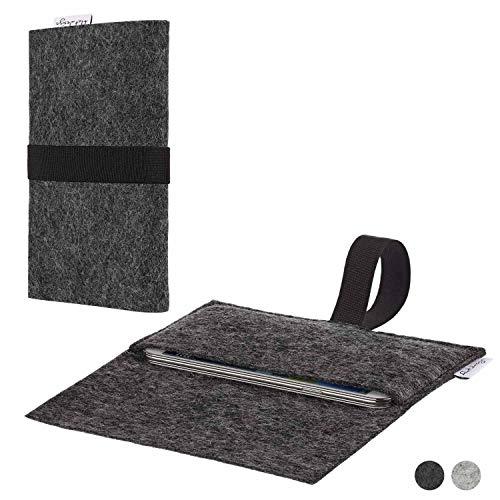 flat.design Handy Hülle Aveiro für Shift Shift6m passexakte Filz Tasche Hülle Sleeve Made in Germany