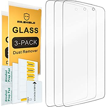 [3-PACK]-Mr.Shield Designed For Alcatel OneTouch IDOL 3  5.5 inch  [Tempered Glass] Screen Protector with Lifetime Replacement