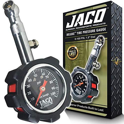 JACO Deluxe Tire Pressure Gauge