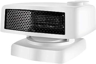 Radiador Eléctrico Calefactor eléctrico El calentamiento rápido Calentador de espacios con termostato ajustable - 1500W eléctrico de cerámica Torre Calentadores cubierta portátil, sobrecalentamiento y