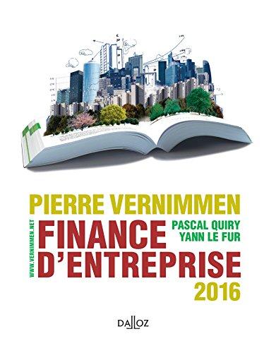 Finance d'entreprise 2016