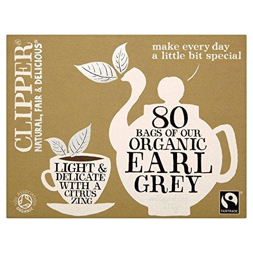 Clipper Fairtrade Organic Earl Grey80 per pack