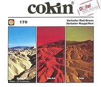 Cokin 角型レンズフィルター A170 バリカラーレッド/グリーン 67×69mmフレーム付 色彩効果用 445862