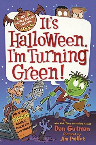 It's Halloween, I'm Turning Green! (Turtleback School & Library Binding Edition) (My Weird School Special)