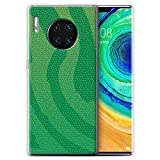 Phone Case for Huawei Mate 30 Pro Reptile Skin Effect Pit