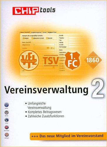 Vereinsverwaltung 2, CD-ROM Für Windows 98/ME/2000/XP/Vista