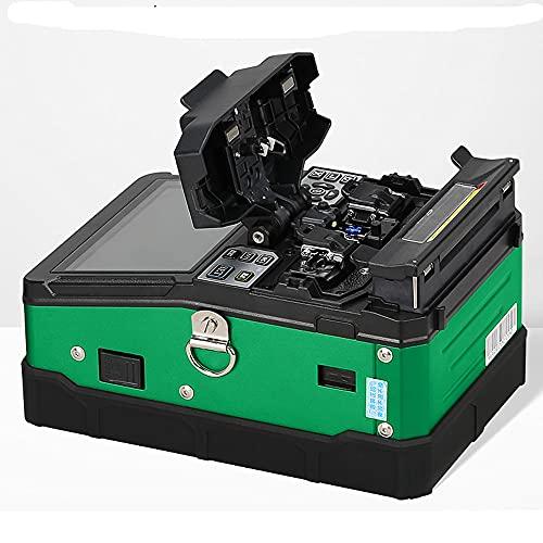 Empalmadora de fusión automática verde de fusión de fibra óptica empalmadora con herramientas-A-81S