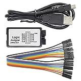 Ren He 24MHz 8チャンネル 8CHロジックアナライザ サポート USBロジックアナライザ MCU FPGA ARM対応