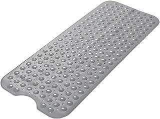 Delgeo Alfombra de baño Extra Larga Anti-Moho, Antideslizante, PVC de Caucho Natural con Ventosa. Alfombrilla para baño, L...