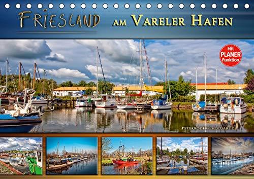 Friesland - am Vareler Hafen (Tischkalender 2021 DIN A5 quer)