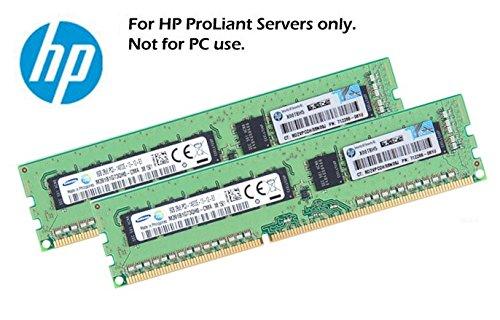 HP 2x 8GB 16GB 2Rx8 ECC DDR3 UDIMM fr HP ProLiant Microserver und G1610T Gen8 Systeme (Generalüberholt)