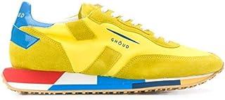 Luxury Fashion | Ghoud Men E10ERMLMNB21 Yellow Suede Sneakers | Spring-summer 20