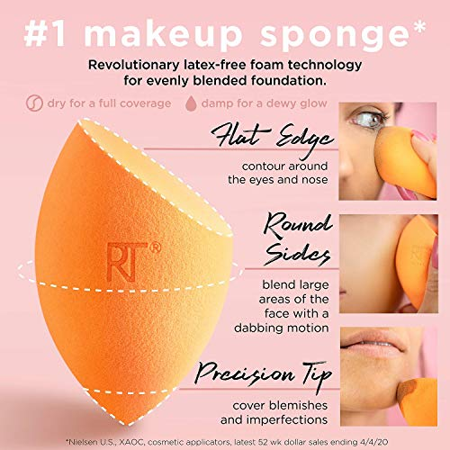 Real Techniques Miracle Complexion Sponge - Pack of 2