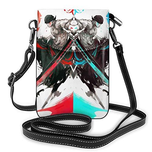 XCNGG Monedero pequeño para teléfono celular One P_iece Crossbody Bags for Women's Crossbody Handbags Cell Phone Purse Waterproof Leather Handbags Small Wallet