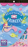 Darice 106-3090 Mermaid Princess Sticker Book, 600 Stickers Mermaid Princess Sticker Book