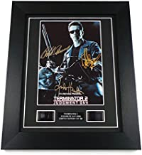 artcandi Terminator 2 Signed + Original Film Footage Framed