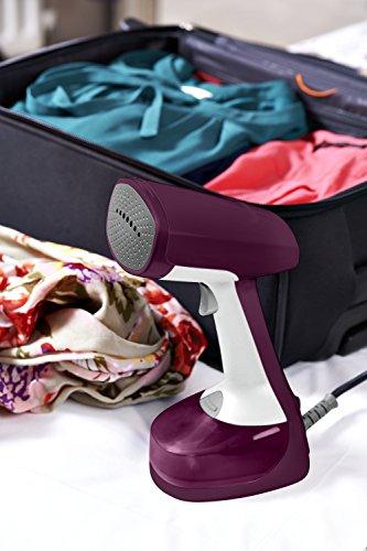 Rowenta Xcel Steam Travel DR7051 Hand-Held Garment Steamer Size, Magenta