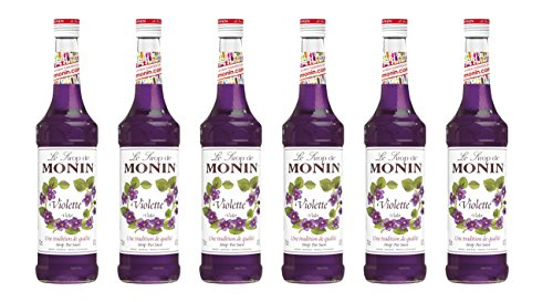 Monin Sirup Veilchen, 0,7L 6er Pack