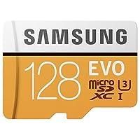 Samsung microSDXC カード 128GB EVO 4K Class10 UHS-I U3対応 最大読込速度 100MB/s MB-MP128G サムスン