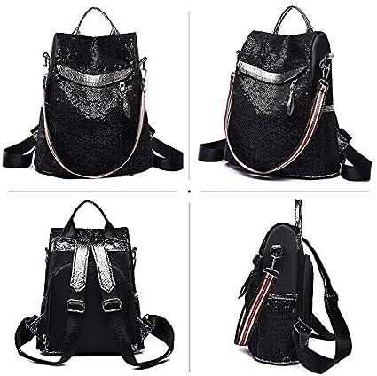 Goodbag Reversible Sequin Backpack Mermaid Backpack Sparkly Glitter School Bag