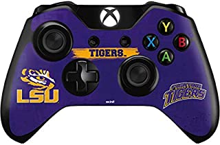 Skinit Decal Gaming Skin for Xbox One Controller - Officially Licensed College LSU Tigers Design