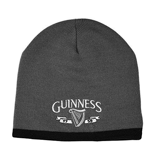 Guinness Official Merchandise - Bonnet - Homme Gris Gris
