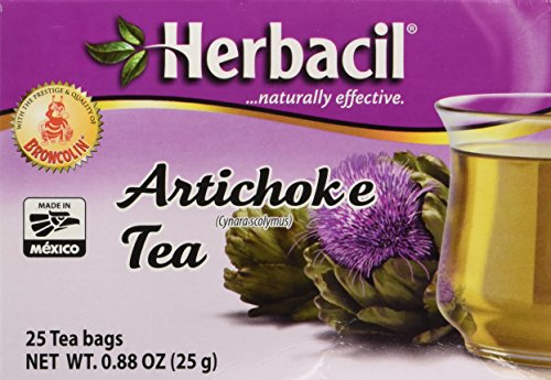 Herbacil Artichoke Tea Te De Alcachofa 25 Bags