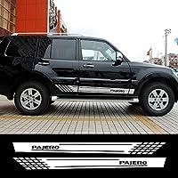 JIERS 三菱パジェロ用、車のロングサイドステッカーオートレーシングスタイリングデカールカースタイリングカーステッカー