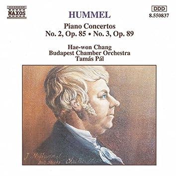 Hummel: Piano Concertos Nos. 2 and 3
