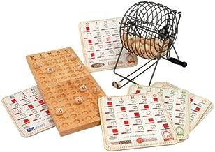 old people playing bingo