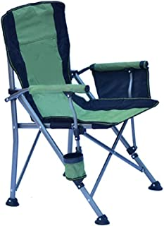 Portable Camping Chair Best Padded Camping Foldable Camping Chair Padded Arm Chair,Padded Arm Chair with Cup Holder, Colla...