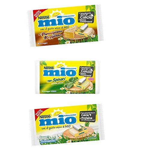 Testpaket Nestlè Formaggino Mio Käse Frischkäse reich an Kalzium ( 3 x 125g )