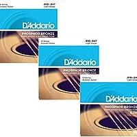 【2セット】D'Addario/ダダリオ EJ70[11-38] ボールエンド マンドリン弦 フォスファーブロンズ