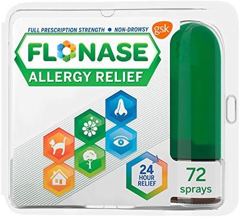 Flonase Allergy Relief Nasal Spray 72 Sprays 0 38 Fl Oz product image