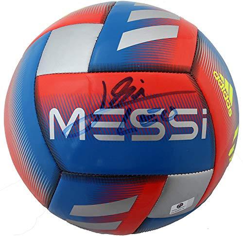 Lionel Messi Signed Autographed Messi Capitano Soccer Ball COA