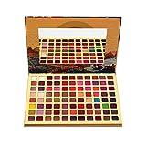 HJSMZ 88 Colores Paleta de Sombras de Ojos Paleta de Sombras Belleza Paleta Maquillaje Paletas de Maquillaje Conjunto de Paleta Brillantes y Mate