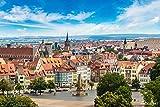 druck-shop24 Wunschmotiv: Panoramic View of Erfurt