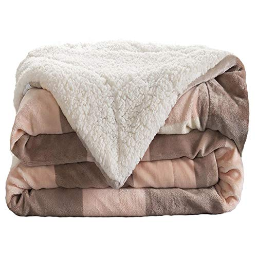 TodGH Warm super soft plush bedspread,Use when reading on the sofa/hanging out on the sofa/bed/participating in sports events or camping.