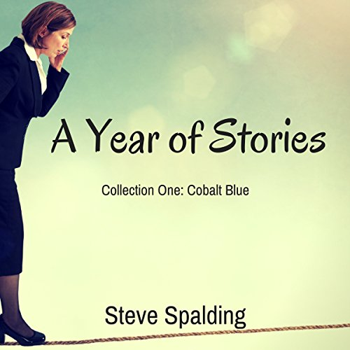 A Year of Stories: Cobalt Blue audiobook cover art