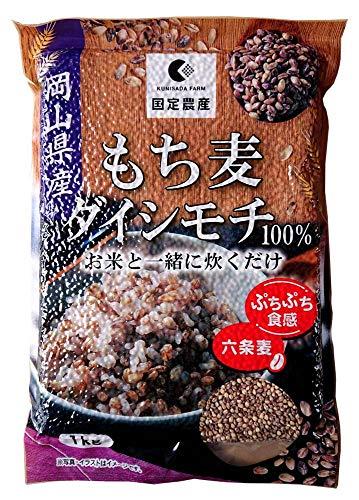 もち麦 ダイシモチ 岡山県産六条麦100% 1kg