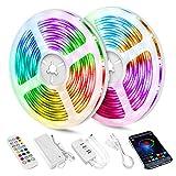 82FT LED Strip Lights,Smart Music sync LED Strip Lights,Bluetooth led Strip...