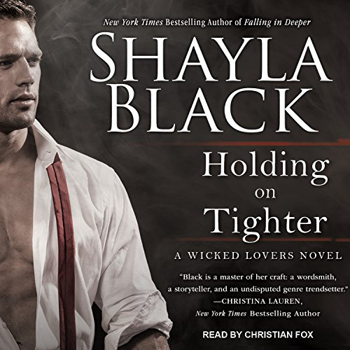 Holding on Tighter audiobook cover art