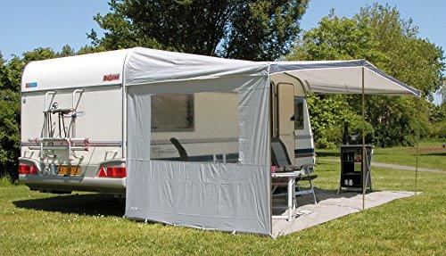 Euro Trail luifelzijwand voor caravans, luifel (200 x 180 cm met venster)