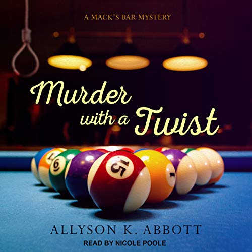 Murder with a Twist audiobook cover art