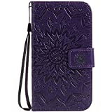 Galaxy Grand Neo Case, Dfly Premium PU Leather Embossed