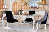 Casa Padrino Conjunto de sillas de Comedor Barroco de Lujo