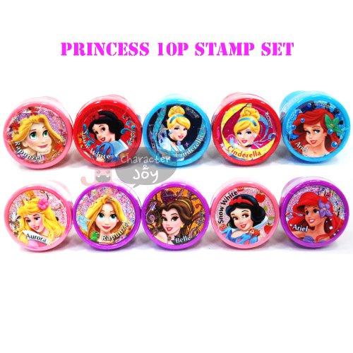 Disney Princess 10pcs Stamp Set by PL