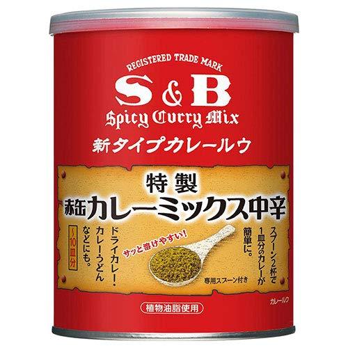 エスビー食品 S&B 赤缶カレーミックス 200g缶×4個入×(2ケース)