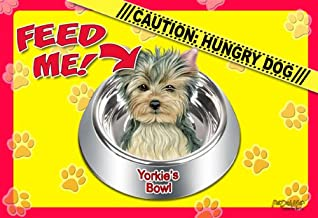 Yorkie 17 x 11-1/2 2-Sided Placemat / Dishmat